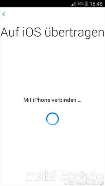 Android auf iOS umziehen (3)
