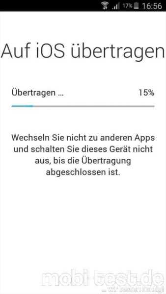 Android auf iOS umziehen (7)