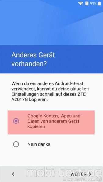 Android per NFC umziehen (1)