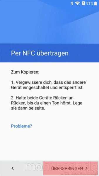 Android per NFC umziehen (2)