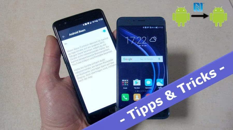 So funktioniert der Umzug von Android zu Android per NFC