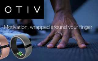 Motiv Ring – ein Fitnesstracker für den Finger mit allem drum und drin