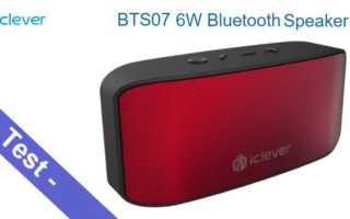 Im Test – der iClever IC-BTS07 Bluetooth Lautsprecher mit 6W