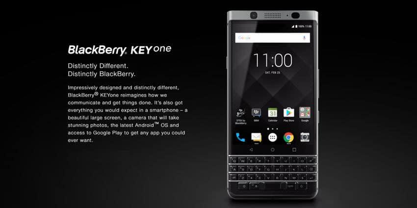 BlackBerry KEYone - sicher, handlich und sehr, sehr sexy