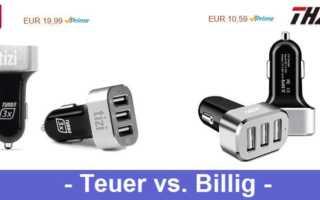 Teuer contra Billig – zwei KFZ Ladegeräte von tizi und THZY getestet und zersägt