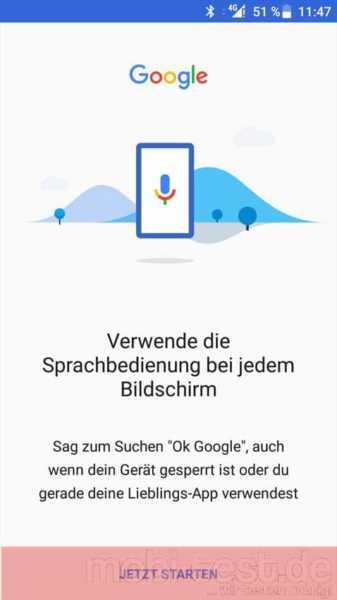 hallo google aktivieren