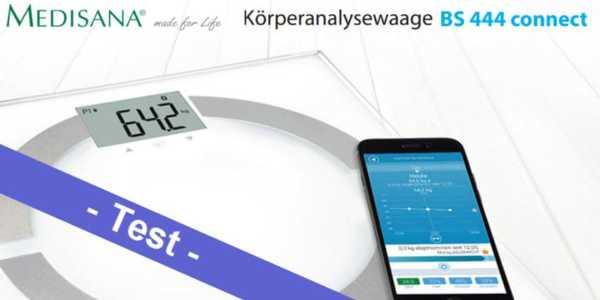 0585129288d058 Im Test - die smarte Medisana BS 444 connect Körperanalysewaage - mobi-test