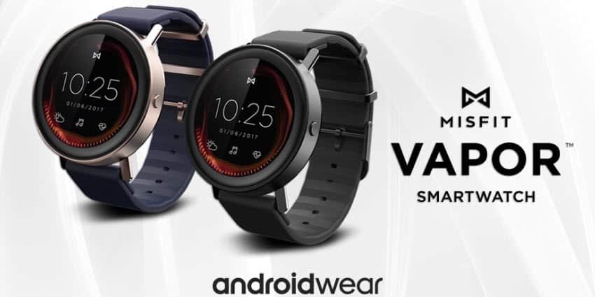 misfit vapor diese smartwatch kommt mit android wear 2 0. Black Bedroom Furniture Sets. Home Design Ideas