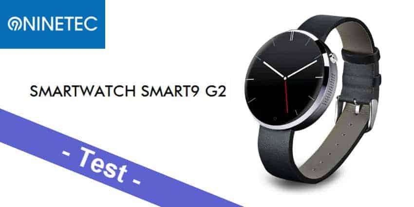 Im Test - die NINETEC Smart9 G2 Smartwatch