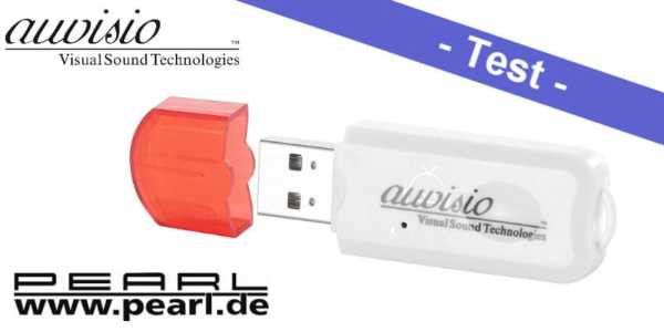 Im Test - der auvisio Bluetooth-Musik-Adapter BTA-28 Transmitter