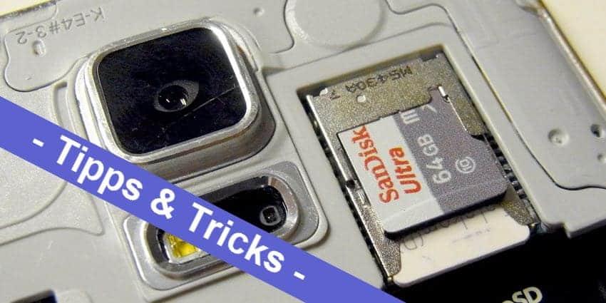 Android mal einfach - so kann man die microSD Speicherkarte als internen Speicher nutzen