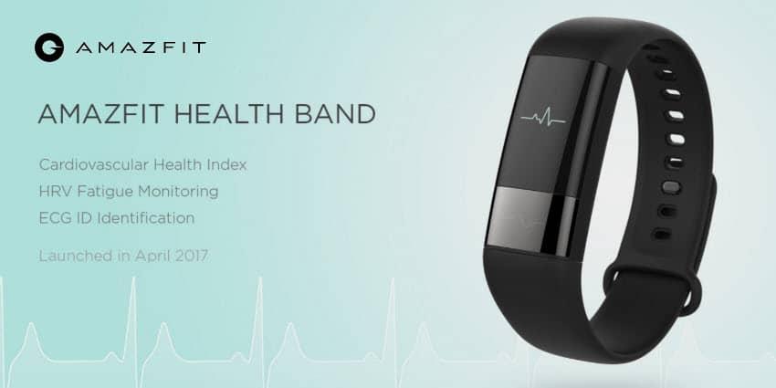 Amazfit Health Band - dieser Fitnesstracker mit einem EKG wird wohl das Xiaomi Mi Band 3 sein