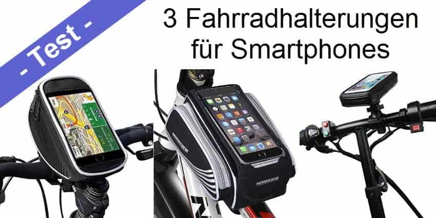 im test drei wasserdichte handyhalterungen f r das fahrrad mobi test. Black Bedroom Furniture Sets. Home Design Ideas
