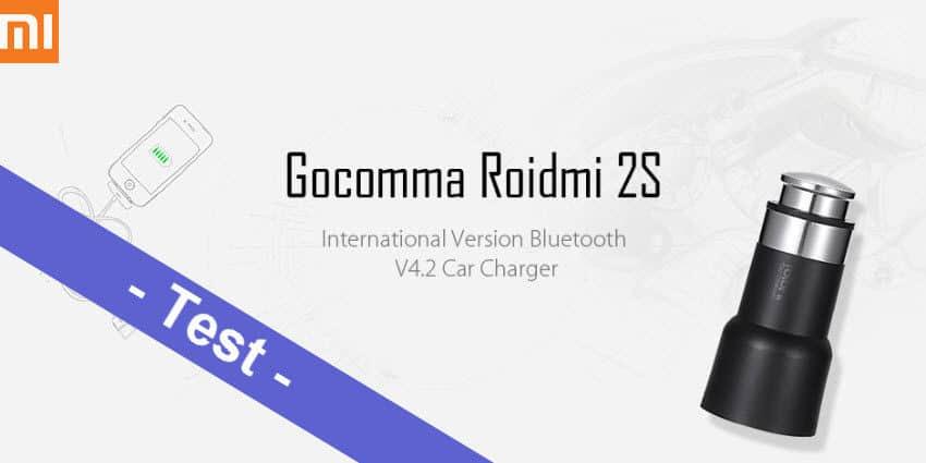 Im Test - der Xiaomi Roidmi 2S Bluetooth V4.2 FM-Transmitter by Gocomma