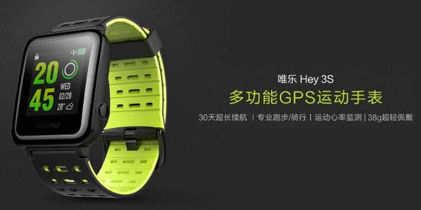 Xiaomi WeLoop Hey S3 - die Apple Watch in günstig