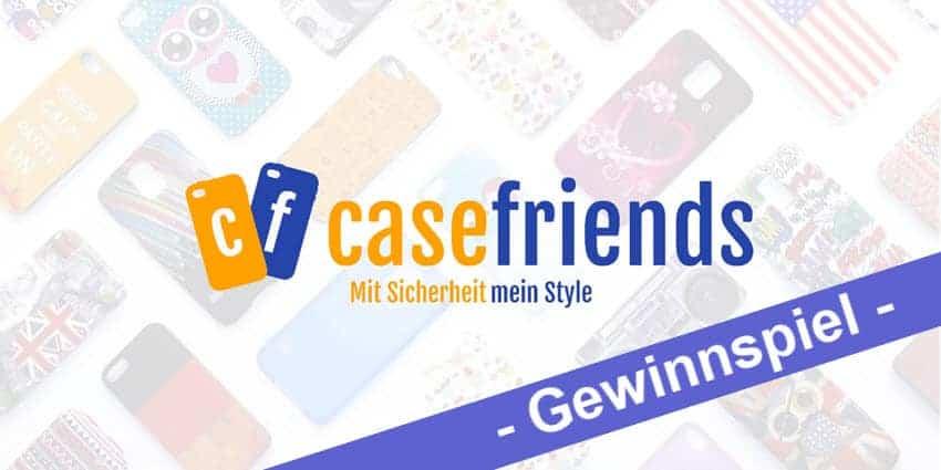 Gewinnspiel – zwei Gutscheine von casefriends.de