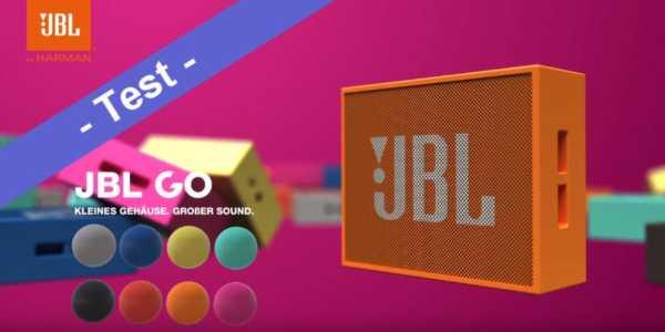 Im Test - der JBL Go Bluetooth Lautsprecher