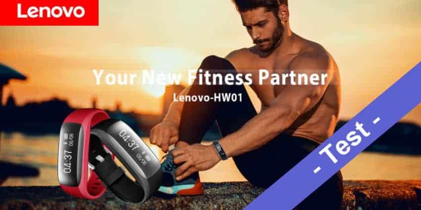 Im Test - der Lenovo HW01 Fitnesstracker