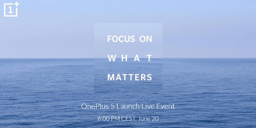 OnePlus 5 - die Vorstellung findet am 20. Juni statt
