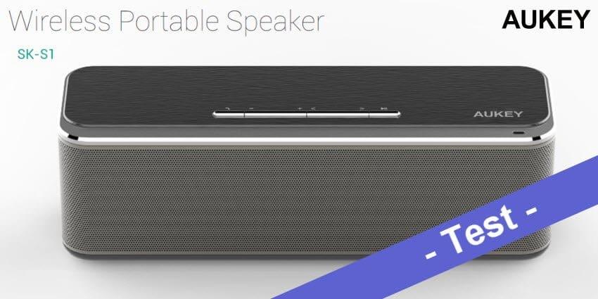 Im Test – der Aukey SK-S1 Bluetooth Lautsprecher mit 16W