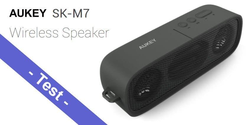 Im Test - der AUKEY SK-M7 Bluetooth Lautsprecher mit 6W