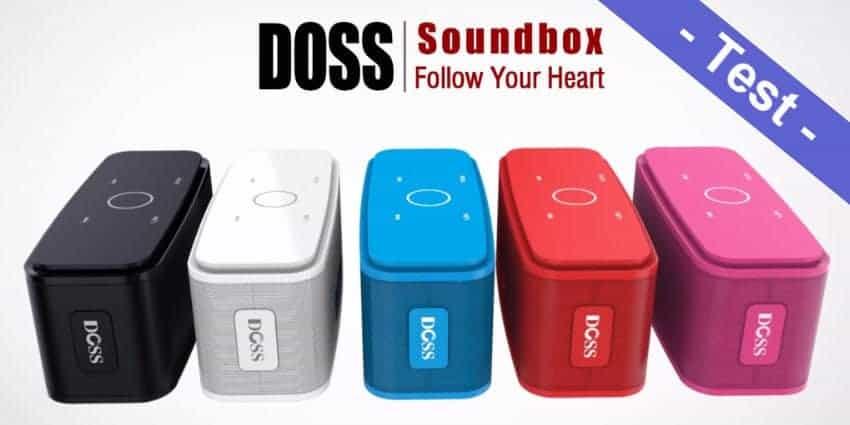 Im Test - der DOSS SoundBox Bluetooth Lautsprecher mit 12W