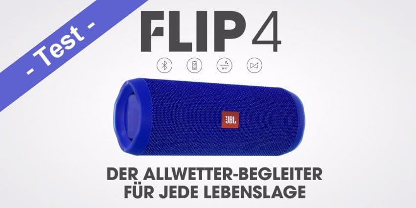 im test der jbl flip 4 bluetooth lautsprecher mobi test. Black Bedroom Furniture Sets. Home Design Ideas