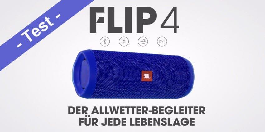 Im Test – der JBL Flip 4 Bluetooth Lautsprecher