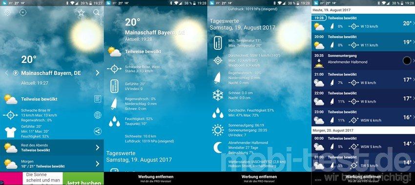 Wetter Deutschland Xl Pro App Test Mobi Test