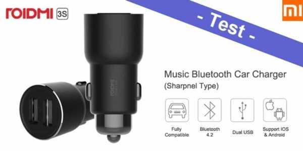 Xiaomi Roidmi 3S Test - was taugt der Bluetooth V4.2 FM-Transmitter?