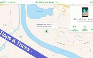 iOS mal einfach – so kann man sein iPhone oder iPad orten, sperren oder löschen