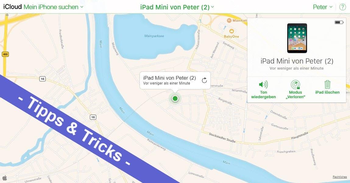 iOS mal einfach - so kann man sein iPhone oder iPad orten, sperren oder löschen