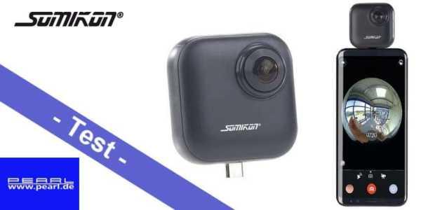 Im Test - die Somikon 360° Kamera DV-2160 von Pearl