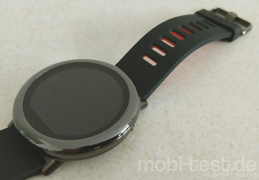 Im Test Die Xiaomi Amazfit Pace Smartwatch Mit Gps Mobi Test