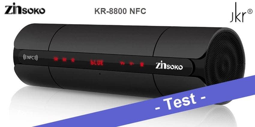 Im Test - der JKR KR-8800 NFC aka Zinsoko KR-8800 NFC