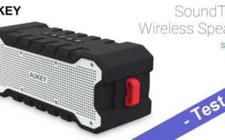 Im Test – der Aukey SK-M12 Outdoor Bluetooth Lautsprecher