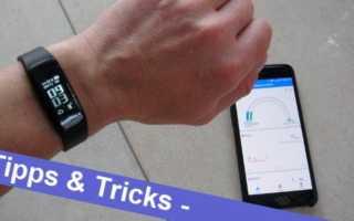 Verbindungsprobleme mit dem Fitnesstracker oder Smartwatch lösen