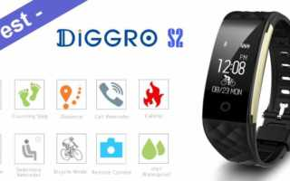 Im Test – das Diggro S2 Smart Band