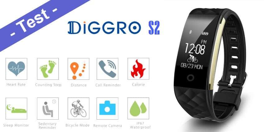 Im Test - das Diggro S2 Smart Band