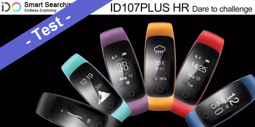 Im Test - der Mpow Fitness Tracker aka ID107 Plus HR