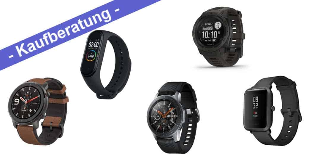 Kaufberatung - meine Top 3 der besten Fitnesstracker und Smartwatches in drei Preisklassen