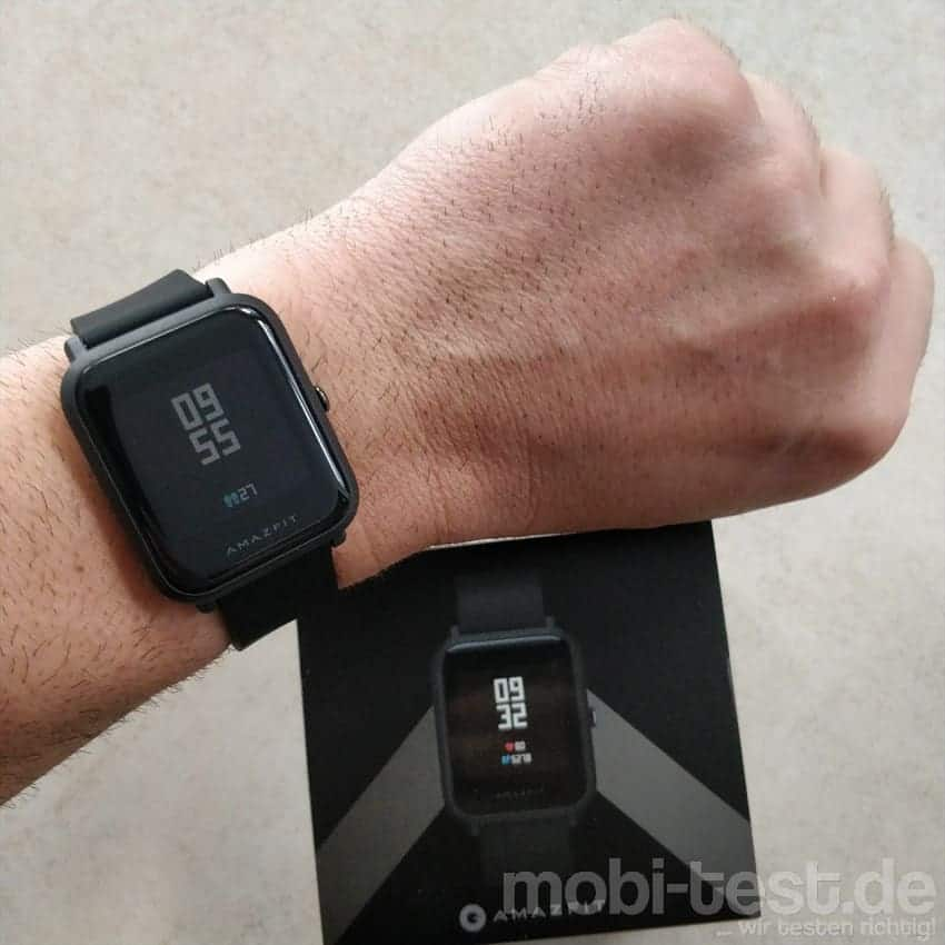 Im Test Die Xiaomi Amazfit Bip Watch Lite Smartwatch