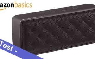 Im Test – der AmazonBasics Bluetooth Lautsprecher BSK30