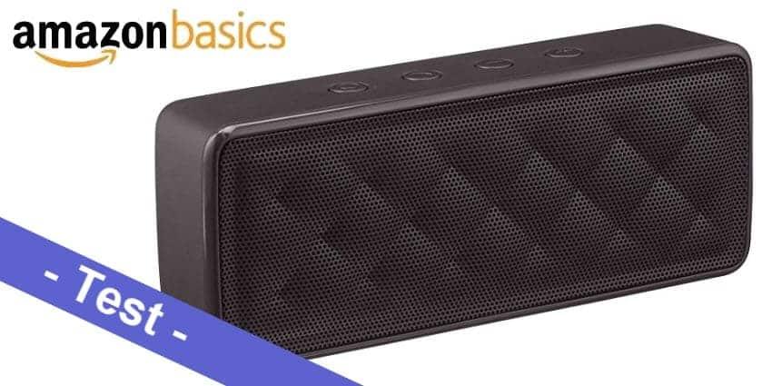 Im Test - der AmazonBasics Bluetooth Lautsprecher BSK30