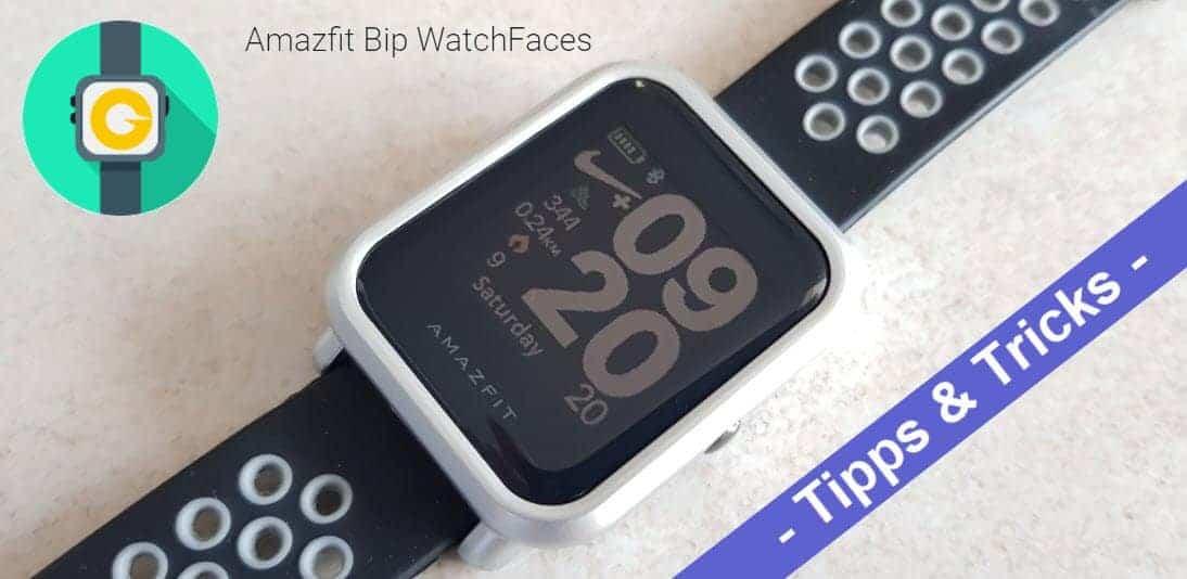 Amazfit Bip Watchfaces finden und installieren leicht gemacht