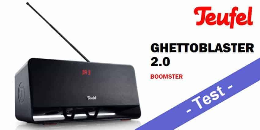 Im Test - der Teufel Boomster 2.Gen