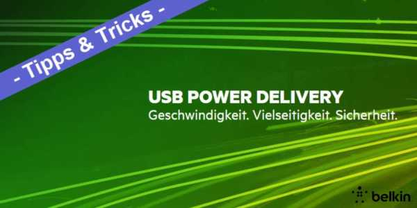 Was ist USB PD oder USB Power Delivery