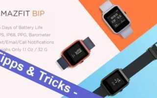 Xiaomi Amazfit Bip Watch Lite Smartwatch – die besten Tipps, Tricks und Links