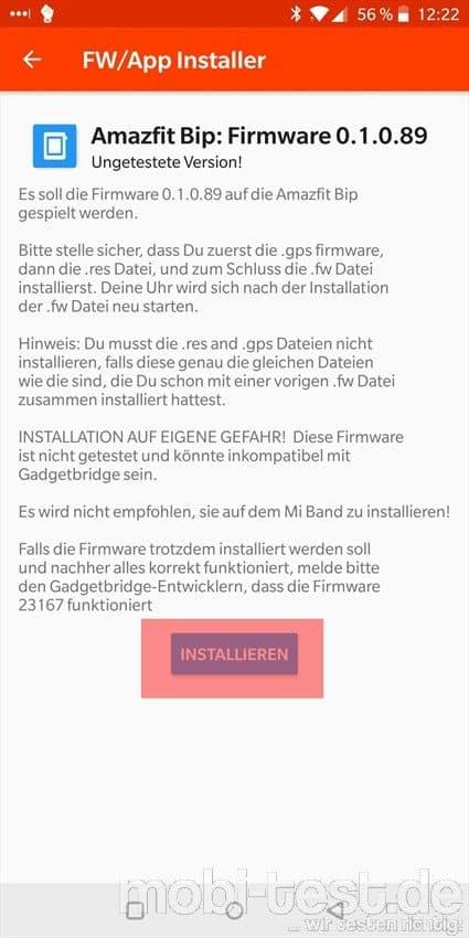 Amazfit Bip Auf Deutsch Umstellen