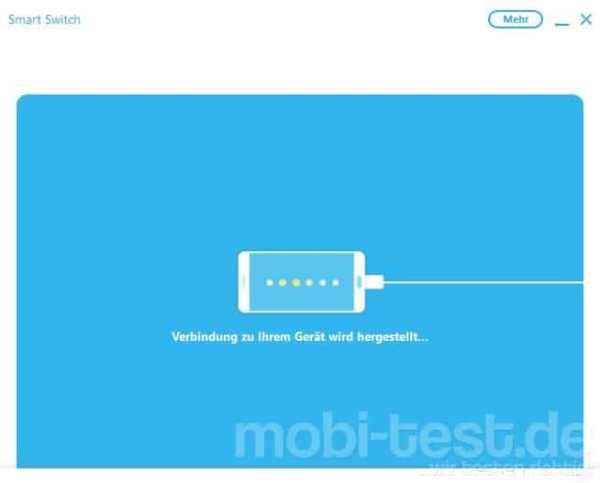 samsung smart switch samsung backup erstellen und wiederherstellen mobi test. Black Bedroom Furniture Sets. Home Design Ideas